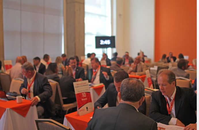 Uno dei nostri incontri b2b in America Latina